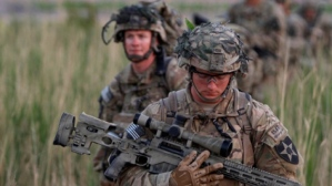U.S. soldier hunt for ISIS.