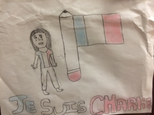Bennett's picture was inspired by her emotional reaction to the attacks.