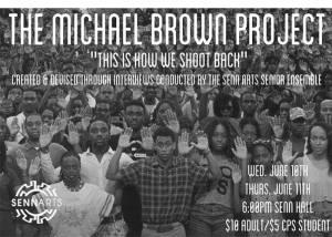 The Michael Brown Poster (Photo: Joel Ewing)