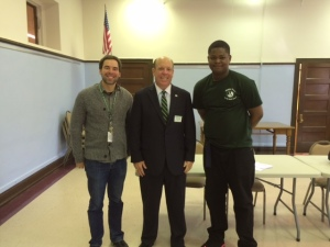 Sultan Adepoju interviewed Alderman Harry Osterman over the phone on topics such as the Senn High School and preventing violence over the summer.