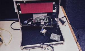 The clock that Ahmed Mohamed brought to class.