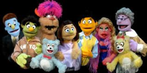 featured puppets in Avenue Q