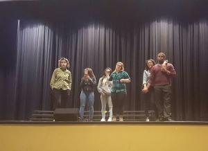 Talent show after school practice