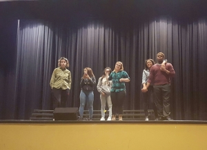 Talent show after school practice