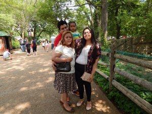 Oyuki and her family